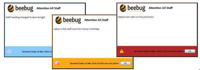 Beebug security messenger
